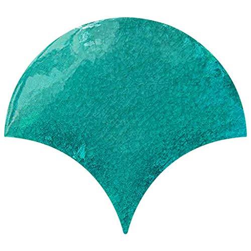 YEARNLY Wandtattoo fürs Kinderzimmer - Wandsticker Set - Pastell Farben, Baby Fischschuppen zum Kleben Wandaufkleber Sticker Wanddeko - Wandfolie, Kleinkinder