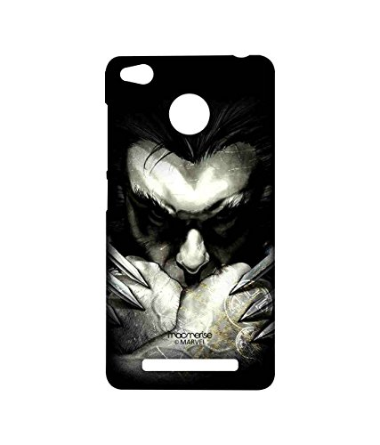 Licensed Marvel Comics Wolverine Premium Printed Back cover Case for Xiaomi Redmi 3S Prime