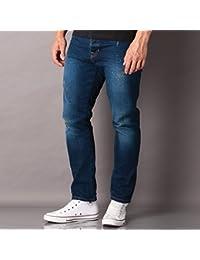 Bench Hombre monicle de V1 Jeans, hombre, Monicle-V1 Jeans, Dark Vintage M0349, 36 [DE 34]