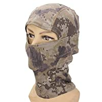 QCY AT Mask Haunted House Camouflage Balaclava Army Outdoor CS Tactical Military Full Face Mask ( Color : 1 )