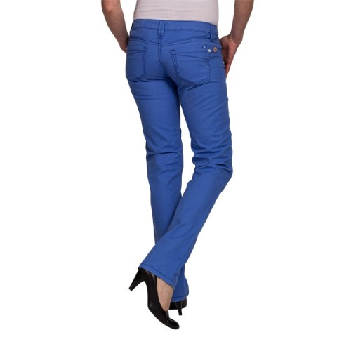 Timezone - Pantaloni, donna Blu (Blau (cornflower blue 3190))