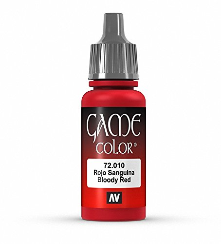 Vallejo Game Color 17 ml VERNICE ACRILICA - Parent Bloody Red