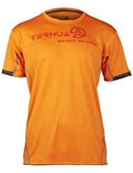 Camiseta senderismo kaihu – hombre Flamme / Whales Grey Talla:S
