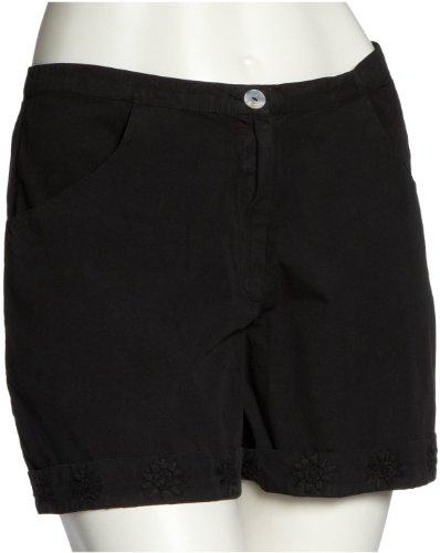 Anita Khan Short Black Rose aks1008 Damen Hosen/ Shorts & Bermudas Schwarz (Black)