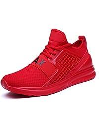 Flarut Zapatillas de Running Padel para Hombres Zapatos Deportivas Gimnasio Correr Deportes de Fitness Casual Sneakers