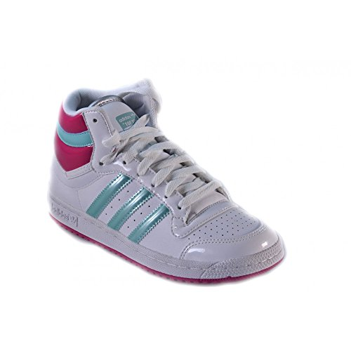 Adidas - Adidas Top Ten HI J scarpe donna alte basket - Bianco, 36