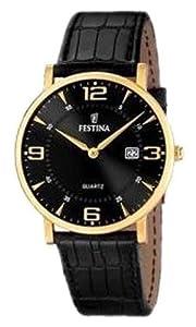 Reloj de mujer FESTINA F16478/4 de cuarzo, correa de piel color negro de Festina