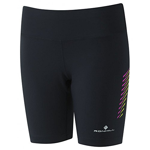 ronhill-womens-stride-stretch-shorts-black-thistle-size-10