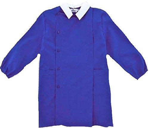 Grembiule siggi scuola maschio colore bluette (10a-140cm)