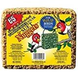 C & S PRODUCTS CO INC - Woodpecker Snak Bird Food Cake With Suet Nuggets, 2.4-Lbs.