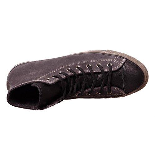 Converse Ctas Distressed Hi herren, wildleder, sneaker high Almost Black/Black/Brown