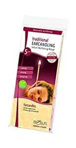 Biosun Hopi Ear Traditional Ear Candles 1 x 5 Pairs