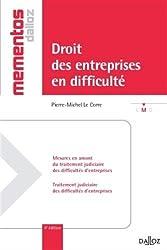 Droit des entreprises en difficulté - 4e éd.: Mémentos