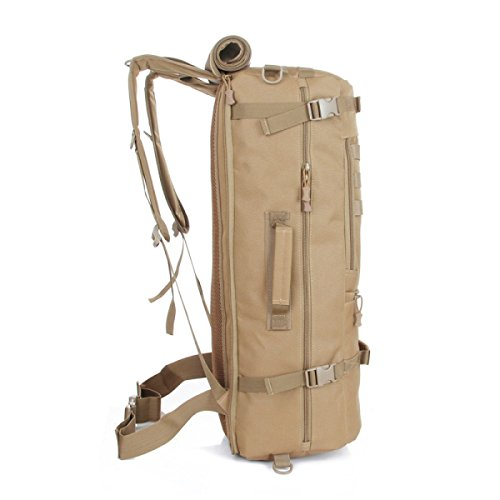 TUOZA Borsa A Tracolla Impermeabile Di Alpinismo All'aperto Sacchetto Di Nylon,Brown-OneSize Brown