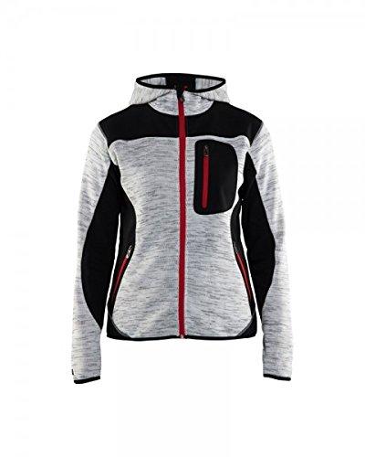 """Preisvergleich Produktbild Blåkläder Workwear Strickjacke """"4930"""" mit Softshell, 1 Stück, L, grau / schwarz, 67-49302117-9099-L"""