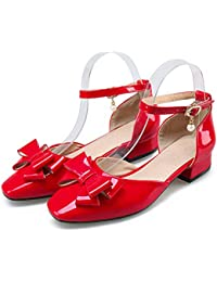 esSandalias Zapatos Piel Vestir Rojas De Amazon 1cKlFJ