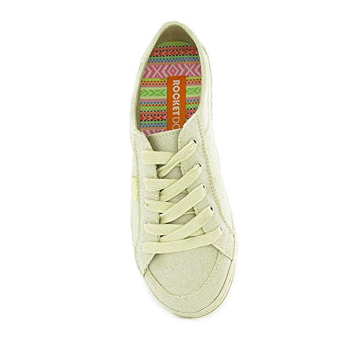 Rocket Dog - Willie Lovely Crochet, espadrillas da donna Beige