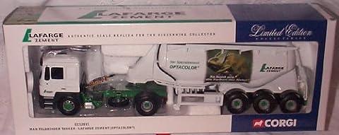 corgi Man Feldbinder Tanker Lafarge Estazem Optacolor lorry 1.50 scale limited edition diecast