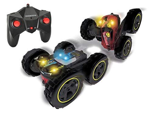 Dickie Toys RC Tumbling Flippy, ferngesteuertes Spielzeugauto, Rotations- und Flip-Funktion, für draußen und drinnen, mit Fernbedienung, für Jungen und Mädchen, beleuchtet, ab 6 Jahren