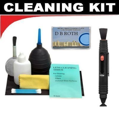 Lenspen Lens Cleaning System + Hurricane Blower + Deluxe 5-Piece Cleaning KitFor The Fuji Film X100 Digital Camera