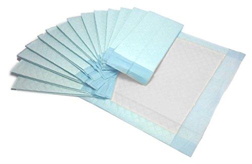 Krankenunterlagen 60x60cm 6-lagig Einmal Patientenunterlagen Inkontinenzunterlagen Original Tiga-Med 100 Stück