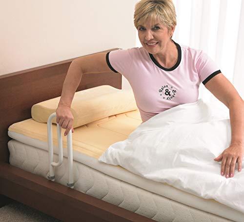 aktivshop Bett Aufstehhilfe Bettgriff – Für mehr Unabhängigkeit und Komfort, weiß