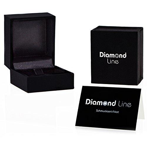 Diamond Line Damen – Ring 585er Gold 1 Diamant, gelbgold - 5