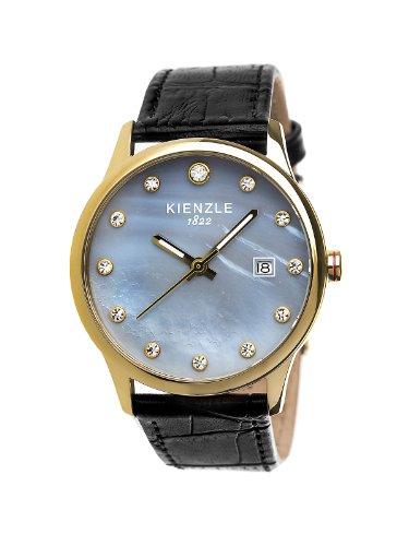 Kienzle - K3042024281-00373 - Montre Femme - Quartz Analogique - Bracelet Cuir Noir