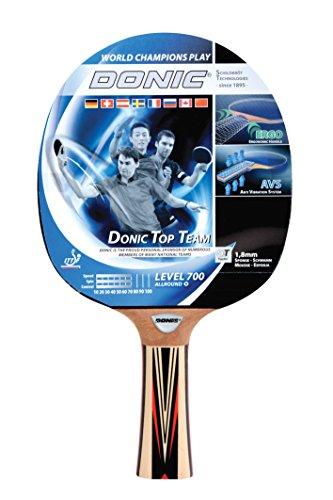Donic-Schildkröt Tischtennis Schläger Top Teams 700 mit AVS Technologie und Ergo Griff, Holz/Natur, One Size, 754197