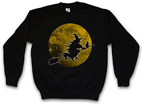 (Urban Backwoods Witch Moon Sweatshirt Pullover - Größen S - 3XL)