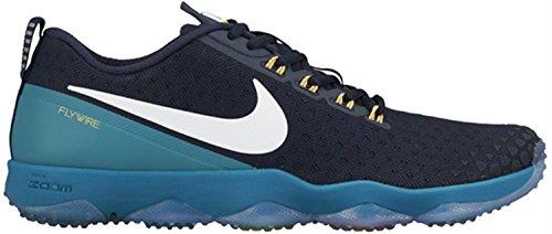 Nike - Nike Zoom Hypercross Tr2 herren Laufschuhe Blau Textil 749362 Blau
