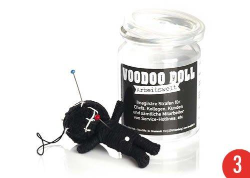 3er-Pack: Voodoo Doll in Dose +++ LUSTIG von modern times +++ ARBEITSWELT - VOODOO-DOLL +++ SCHERZBOUTIQUE