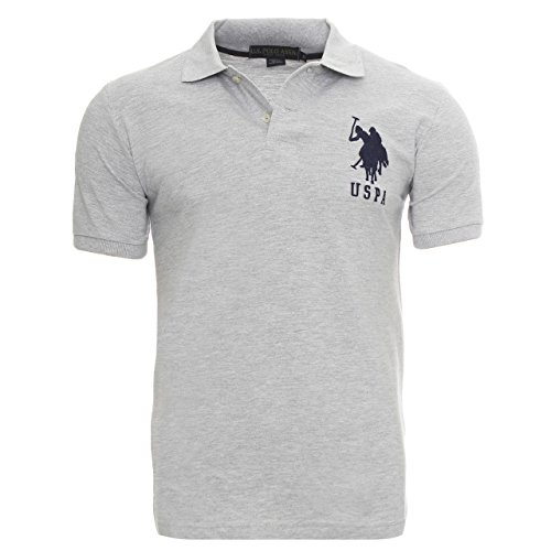us-polo-association-polo-uomo-grigio-xl