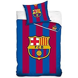 FC Barcelona juego de cama, algodón, rojo/azul, 27x 39x 4cm)