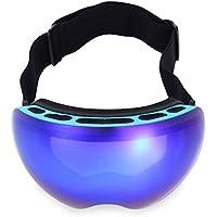 Wenquan,Protección UV Antiniebla Esquí Gafas Máscara Hombres Mujeres Snowboard Gafas(Color:Azul,Size:4503)