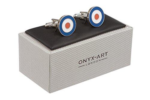 raf-roundel-cufflinks-in-onyx-art-box-mod-target-cufflinks