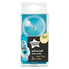 Tommee Tippee Advanced Anti-Colic Variable Flow Teats, 2 Count
