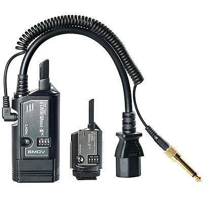 SMDV Digital Radio Slave Kit III FlashWave AC Kabelloser Auslöser für Studio-Stroben Radio Slave Strobe