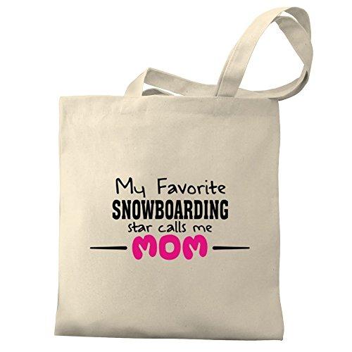 Eddany My Favorite Snowboarding Star Calls me mom Bereich für Taschen