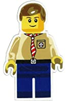 Scout Leader Minifig Woven Fun Badge