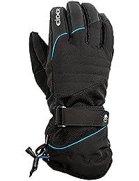 Eider eiv3787–Guantes para hombre, color Black/Active Blue, tamaño L