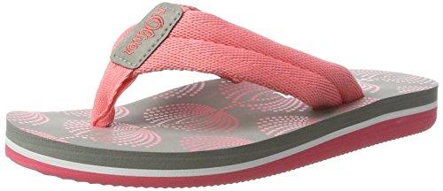 s.Oliver Unisex-Kinder 47101 Zehentrenner, Pink (Coral Comb 595), 33 EU