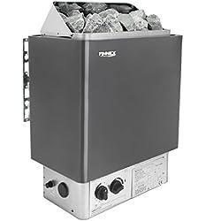 Sauna Poêle Électrique Finnex avec unité de contrôle encastré(4.5KW À l'exclusion des pierres)