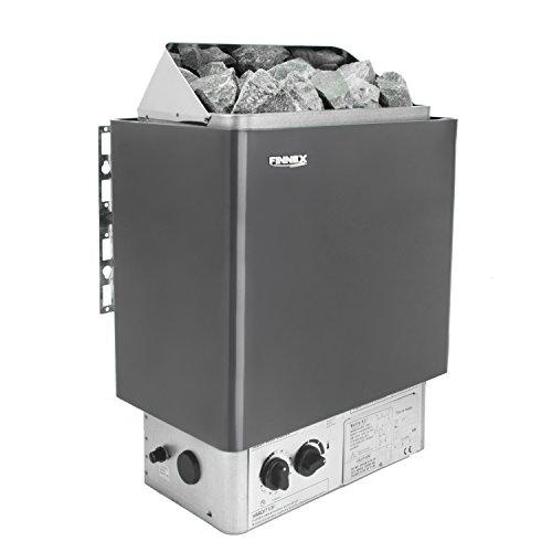 Saunaofen mit integrierter Steuerung und Überhitzungsschutz(6.0kw nur Saunaofen)