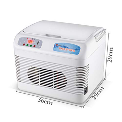 Auto Kühlschrank Auto Kühlbox 12V / 24V / 220V-240V, Auto/LKW/Haushalt Mini-Kühlschrank (12L, 15L, 19L, 26L) Digitalanzeige Temperaturregelung