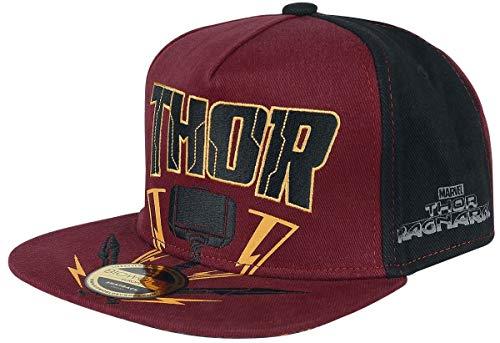 Thor Tag der Entscheidung Hammer Snapback-Cap Mehrfarbig