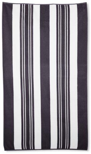 Northpoint Sorrento Baumwolle. Mit Terry, Strandtuch, 40- bis 70-inch Galleria Grey