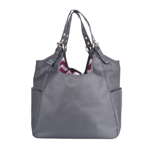 jp-lizzy-graphite-blush-satchel-diaper-bag