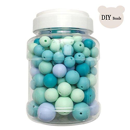 Best for baby BPA frei Dientes de silicona DIY Silikon Ball Perlen Ungiftig Baby beißring Montessori Spielzeug Baby spielzeug