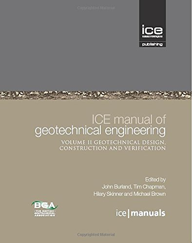 ICE Manual of Geotechnical Engineering 2 vol set (ICE Manuals)